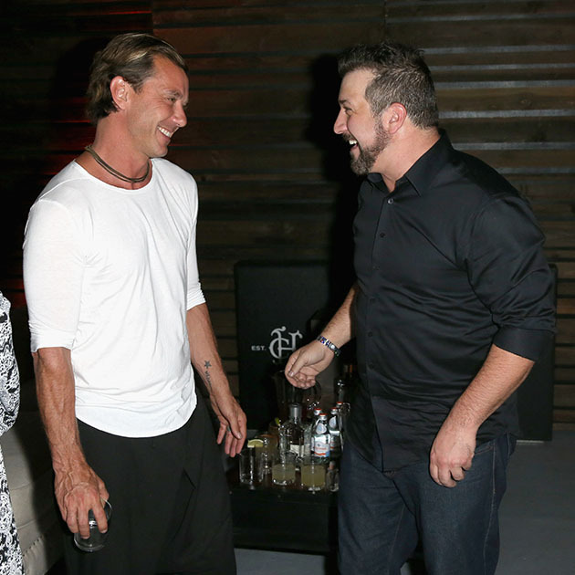 April 26: Let's drink to that! Joey Fatone and Gavin Rossdale chatted it up at the Tequila Herradura party hosted by Casa Herradura in L.A.