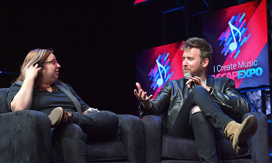 April 28: Talking country! Charles Kelley spoke onstage during the We Create Music panel presented by Billobard as part of the 2016 ASCAP I Create Music EXPO in L.A.
