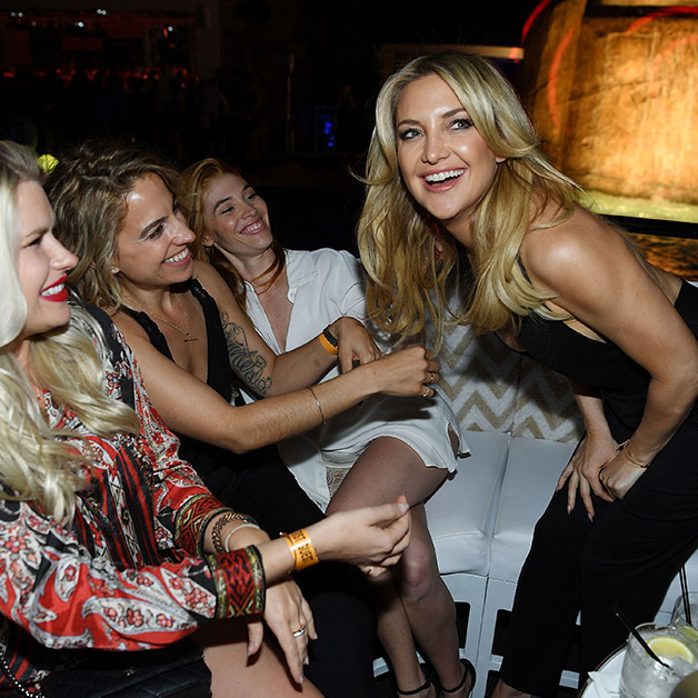 April 29: The party won't stop! Kate Hudson celebrated the opening of Intrigue nightclub at the Wynn in Las Vegas.