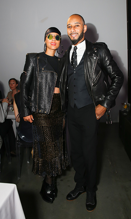 May 1: Parents' night out! Alicia Keys and Swizz Beatz were a stylish duo during the third annual Village Fête to benefit Pioneer Works, presented by Bombay Sapphire Gin in Brooklyn.