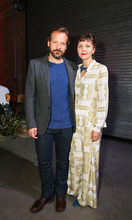 May 1: Maggie Gyllenhaal and Peter Sarsgaard attended the third annual Village Fête to benefit Pioneer Works, presented by Bombay Sapphire Gin in Brooklyn. 