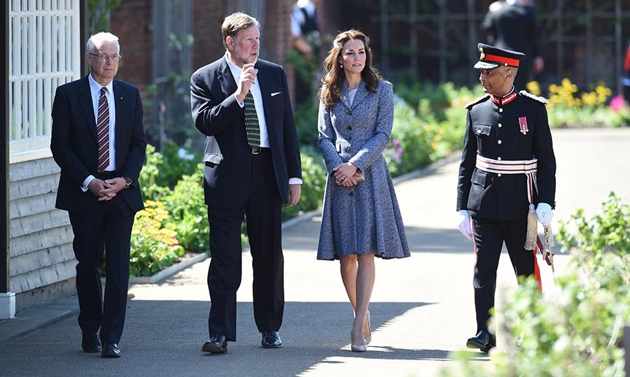 The Hampton Court engagement was just the first of the day.