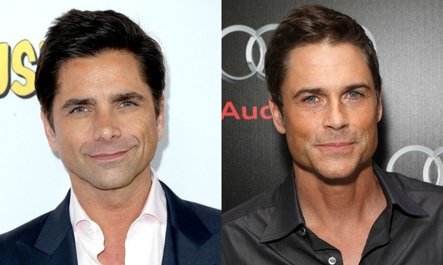 "Wrong '80s heartthrob! While on vacation, John Stamos found himself in an awkward situation after a fan mistook him for fellow age-defying actor Rob Lowe. The <i>Fuller House</i> star told his female admirer, ""That's right, yeah. Alright"" in a video he captioned, ""#AwkwardVacationMoments.""