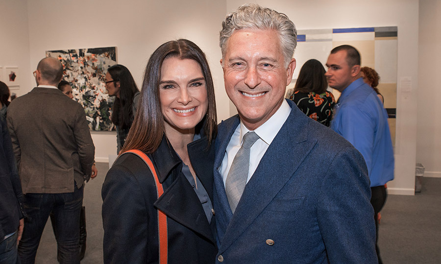 May 3: Brooke Shields and David Kratz celebrated the kick off of art week with Art New York and CONTEXT New York.