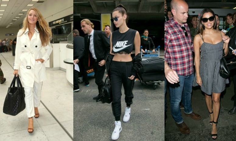 Touchdown France! We know the celebs will be glamming it up on the red carpets throughout the Cannes Film Festival that officially kicked off on May 11 and goes until the 26. As La Croisette fills with stars, take a look at how they arrive after their flights to kick off the festivities. 