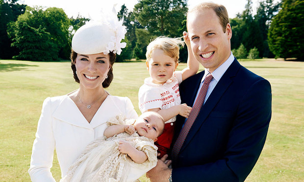 "A few months after the birth of Princess Charlotte, William admitted to the BBC, ""It has been fantastic and she has been a little joy of heaven. But at the same time it is more responsibility, looking after two little ones, especially when George is around. He's a little monkey.""