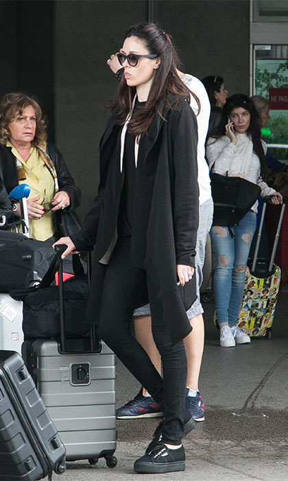 May 11: Model Coco Rocha almost slipped under the radar as she arrived at Nice airport in an inconspicuous all black outfit. The 27-year-old is no doubt looking forward to the many glamorous parties that the Cannes festival has to offer.