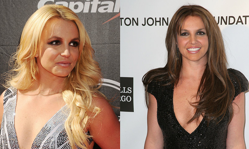 <b>Britney Spears</b> took us by surprise when she went brunette years ago, as she's best known for her pop star style blonde tresses. 