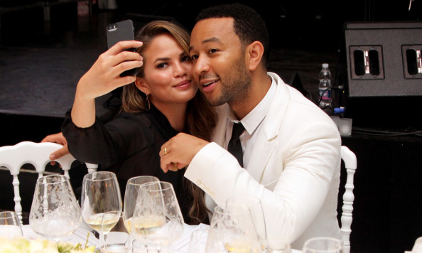 Cue the awes. Chrissy Teigen and John Legend are pretty much experts when it comes to date night selfies.