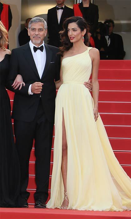 "<a href=""https://us.hellomagazine.com/tags/1/amal-clooney/""><strong>Amal Clooney</strong></a> channels Greek goddess at Cannes 2016.