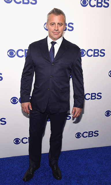 May 18: The right plan! Matt LeBlanc, star of <i>Man with a Plan</i> looked sharp on the carpet at the CBS Upfront presentation. 