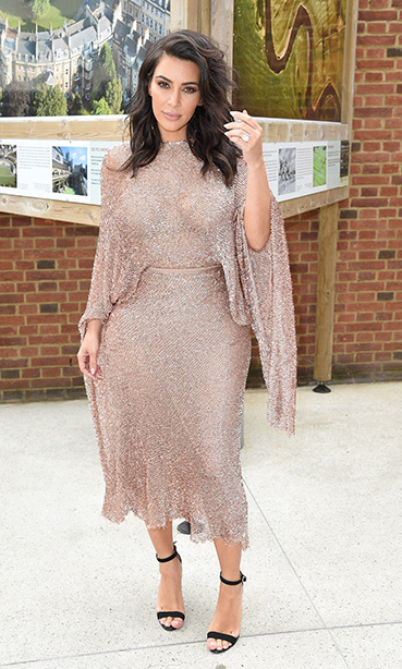 May 21: Keeping up with Kim! Kim Kardashian attended the Vogue 100 Festival: Fashion, Friendship and Fabulous Lashes at the Royal Geographical Society in London. 