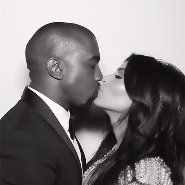 "Kim captured this photo from her wedding day photo series ""love."" 