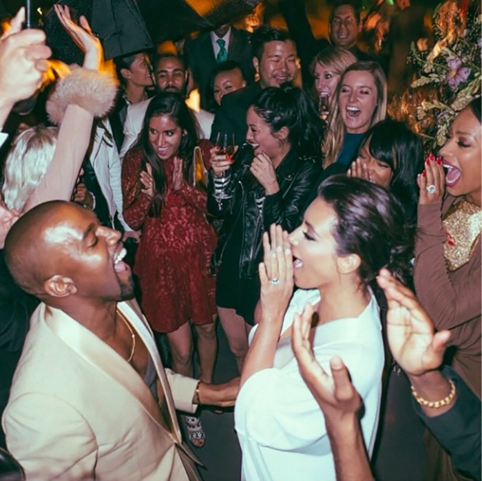 After all the mingling, it was finally time to party the night away in the rain. 