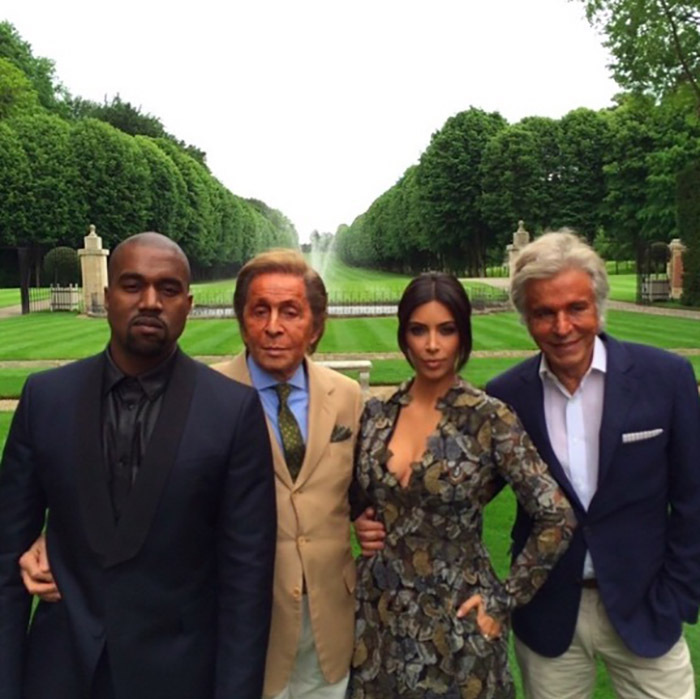 Brunching in style! Kim shared this highly stylish snapshot from the event. 