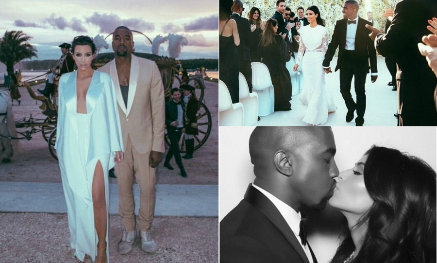 <b>Happy anniversary KimYe!</b>