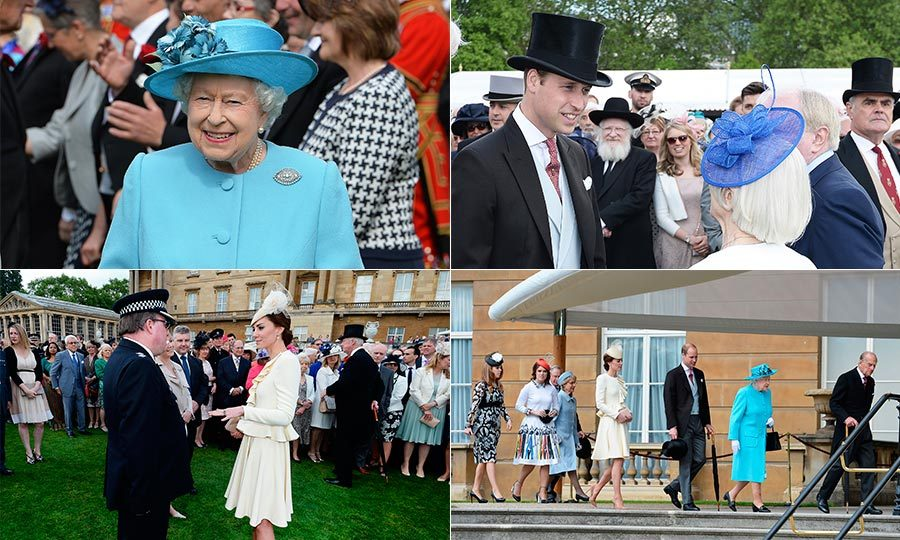 Yesterday Prince William and Kate Middleton stepped out for their first ever joint appearance at a Buckingham Palace Garden Party. 
