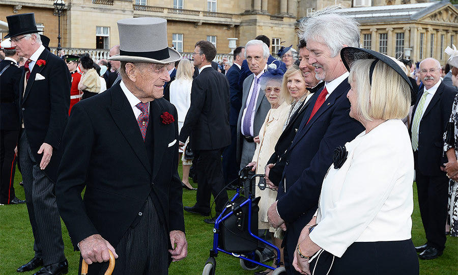 The royals traditionally speak to guests in the grounds before heading into the tea tent where they are joined by a select number of VIPs and dignitaries. 94-year-old Prince Philip, who has been attending these garden parties for many years, appeared in good spirits as he stopped to chat with guests.