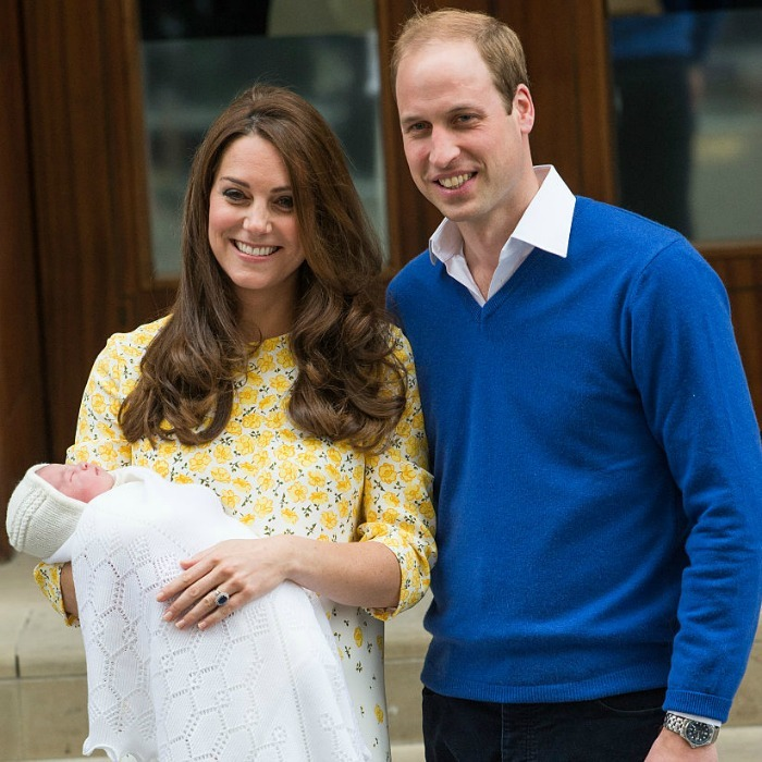 Kate Middleton and Prince William welcomed their daughter in 2015.