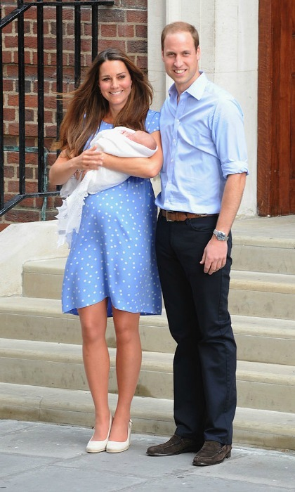 The Duke and Duchess of Cambridge welcomed their first child, Prince George, in 2013.