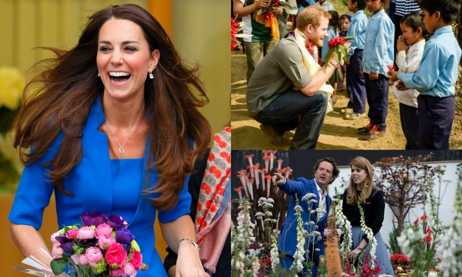 Click through to celebrate summer being around the corner with two of our fave things: British Royals and flowers!