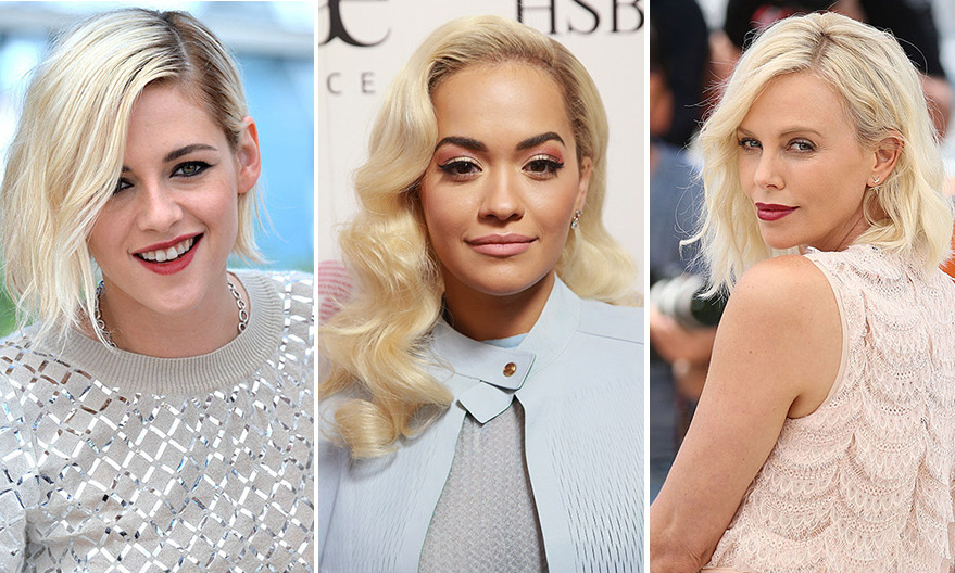 Platinum blonde is quickly becoming one of the season's hottest trends, with stars from Charlize Theron to Jennifer Lawrence experimenting with the look. 