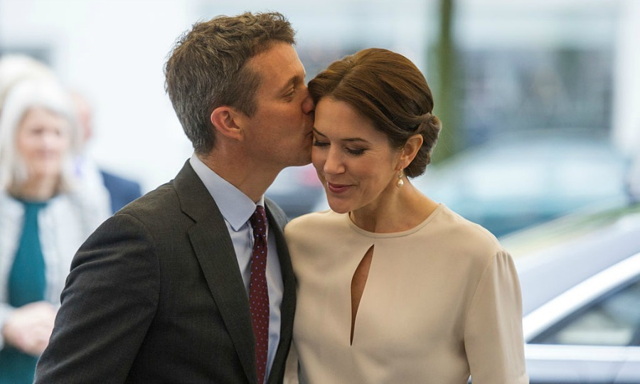 In honor of Crown Prince Frederik of Denmark's birthday on May 26, we're taking a look at his sweetest moments with his wife Crown Princess Mary. So click through for the cutest pics of this down-to-earth royal couple. 