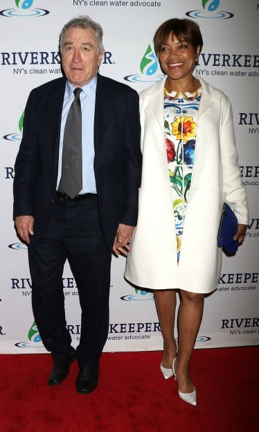 May 18: Another night, another award! Robert De Niro and Grace Hightower walked the red carpet for the Riverkeeper's 50th Anniversary Fishermen's Ball in NYC, where Robert received the Riverkeeper Hudson Hero Award.