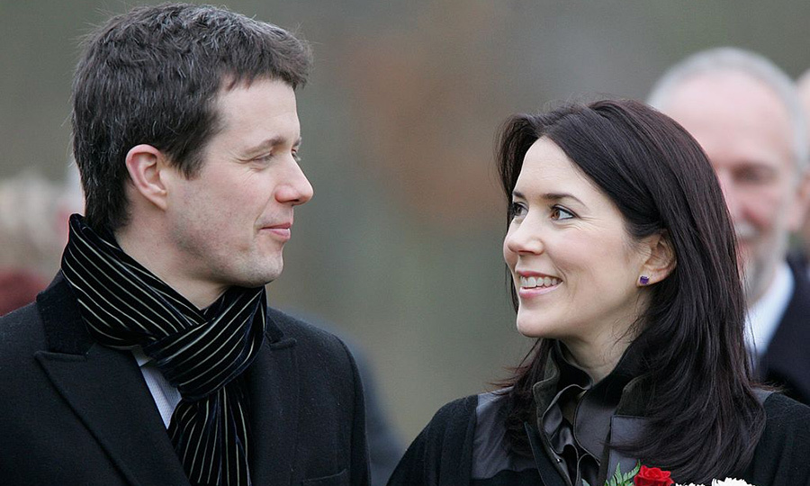 The look says everything! This royal pair can't even resist gazing into each other's eyes during royal engagements. Here, they steal a romantic glance during a visit to Germany in 2006. 