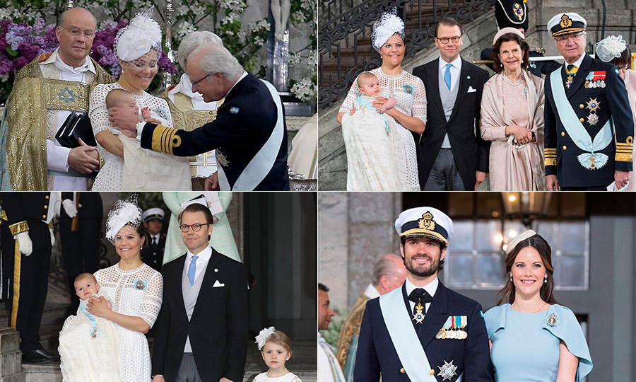 On May 27, 2016 the Swedish royal family and their Scandinavian royal neighbors came together to celebrate the christening of Prince Oscar of Sweden.