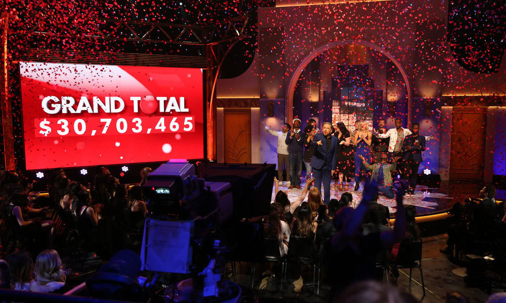 In the end, the star-studded FUN-raiser generated over $30 million for children in need.  