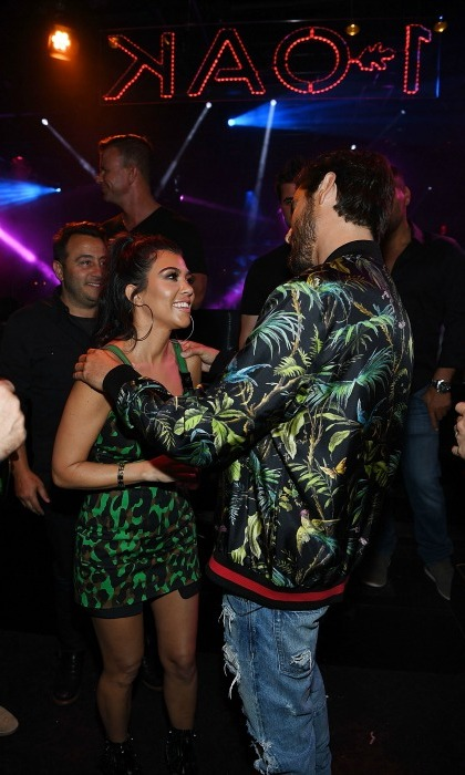 May 28: Birthday love for the Lord! Kourtney Kardashian joined Scott Disick for his 33rd birthday celebration at 1 OAK Las Vegas at the Mirage Hotel and Casino.