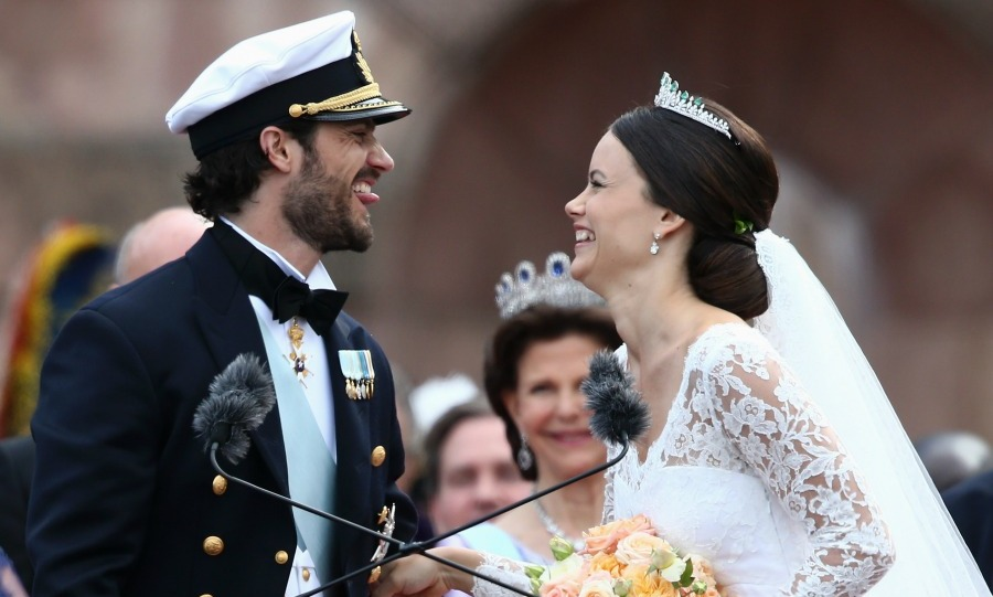 "The couple, who confirmed their engagement in the summer of 2014, only have eyes for each other! ""Sofia is beautiful and has beautiful eyes,"" said Prince Carl Philip in a Swedish TV interview. ""But she's also a fantastic person. She's down to earth and has a wonderful personality. There are so many good things to say about her.""