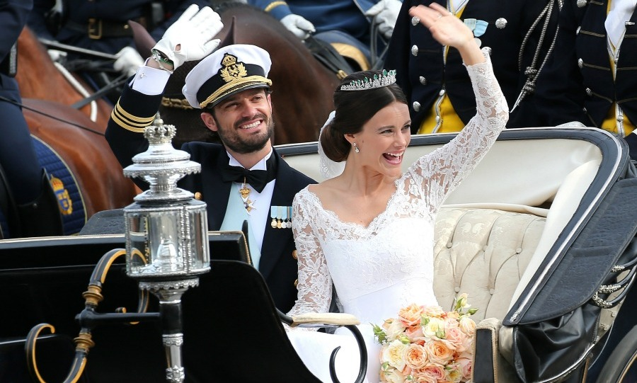 Prince Carl Philip and Princess Sofia were married during a lavish ceremony in Sweden on June 13, 2015. 