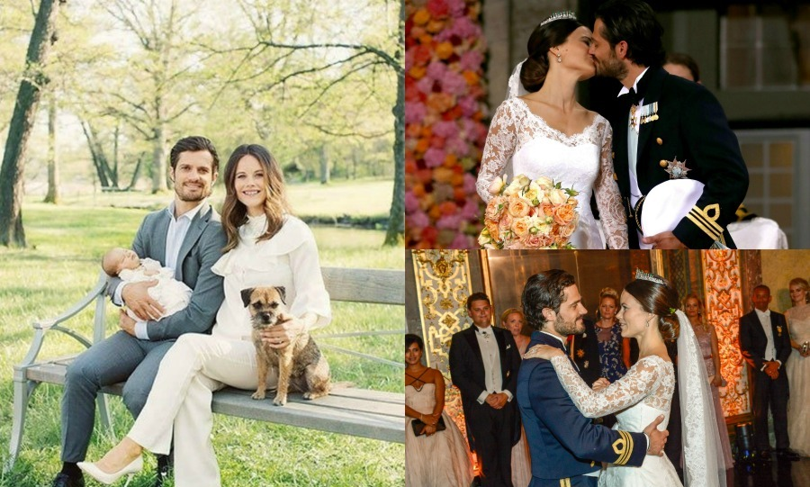 To celebrate Prince Carl Philip and Princess Sofia of Sweden's anniversary, we're taking a look back at their romance-filled first year of marriage, from newlyweds to happy family of three with the arrival of their first child. 
