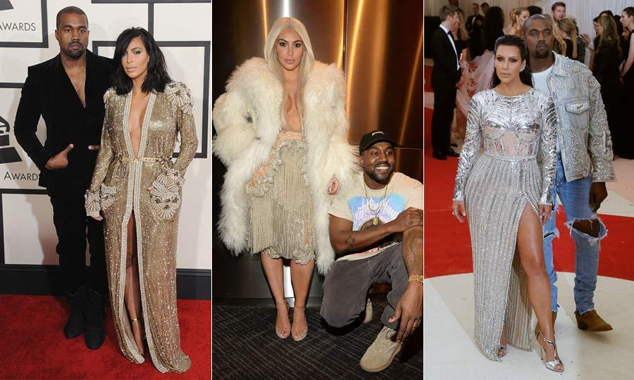 Since they began dating in Spring 2012, Kim Kardashian and Kanye West have become one of the most fashionable couples in Hollywood.