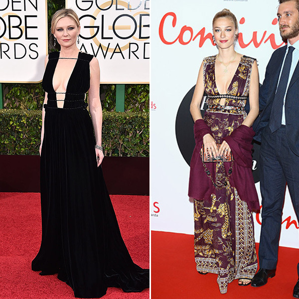 <b>Kirsten Dunst and Beatrice Borromeo</B>