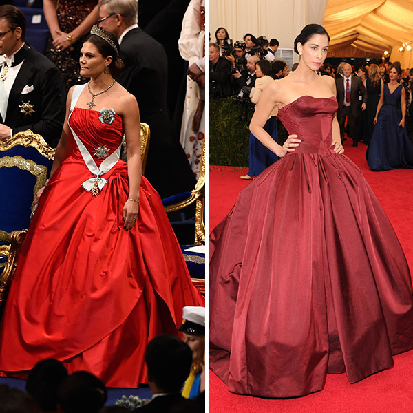 <b>Crown Princess Victoria of Sweden and Sarah Silverman</B>