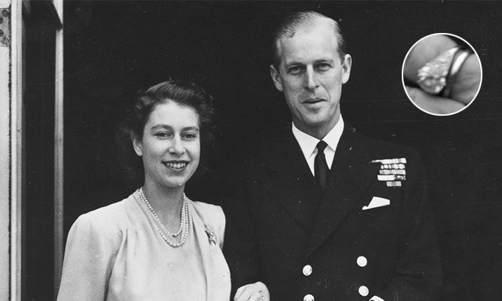 "<B><a href=""https://us.hellomagazine.com/tags/1/queen-elizabeth/""><strong>QUEEN ELIZABETH</strong></a> AND PRINCE PHILIP</B>