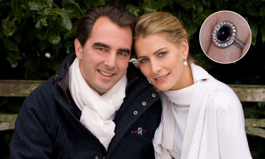 "<b>PRINCE NIKOLAOS AND <a href=""https://us.hellomagazine.com/tags/1/princess-tatiana/""><strong>PRINCESS TATIANA</strong></a> OF GREECE</B>