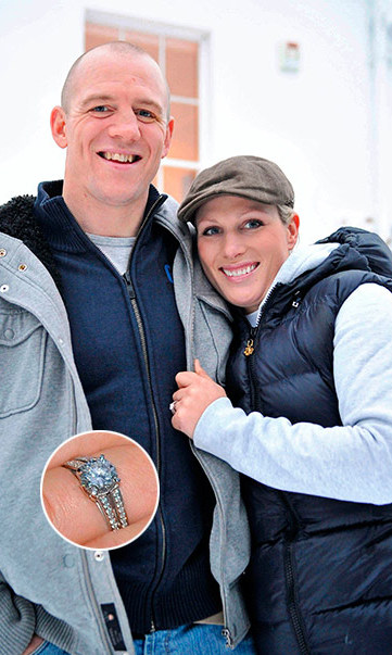 "<b> <a href=""https://us.hellomagazine.com/tags/1/zara-phillips/""><strong>ZARA PHILLIPS</a> AND MIKE TINDALL</B></strong>