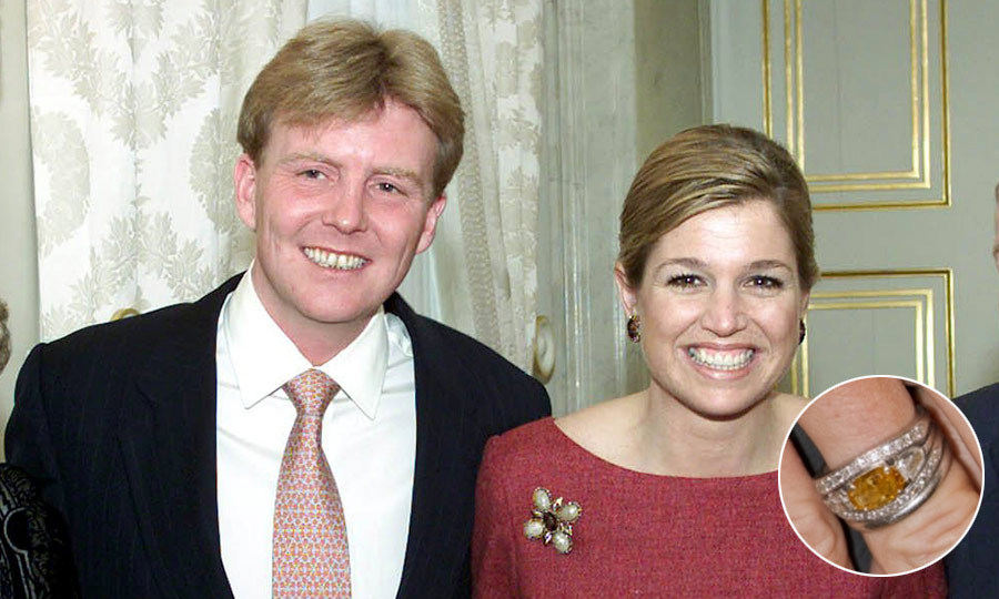 "<B>KING WILLEM-ALEXANDER AND <a href=""https://us.hellomagazine.com/tags/1/queen-maxima/""><strong>QUEEN MAXIMA</strong></a> OF THE NETHERLANDS</B>