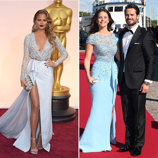 <b>Chrissy Teigen and Princess Sofia of Sweden</B>