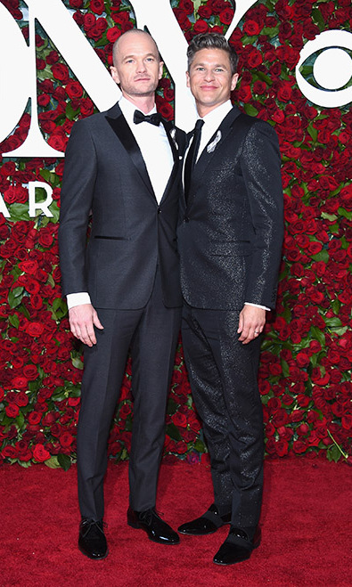 Neil Patrick Harris showed off his new look (a shaved head!) alongside his husband David Burtka.