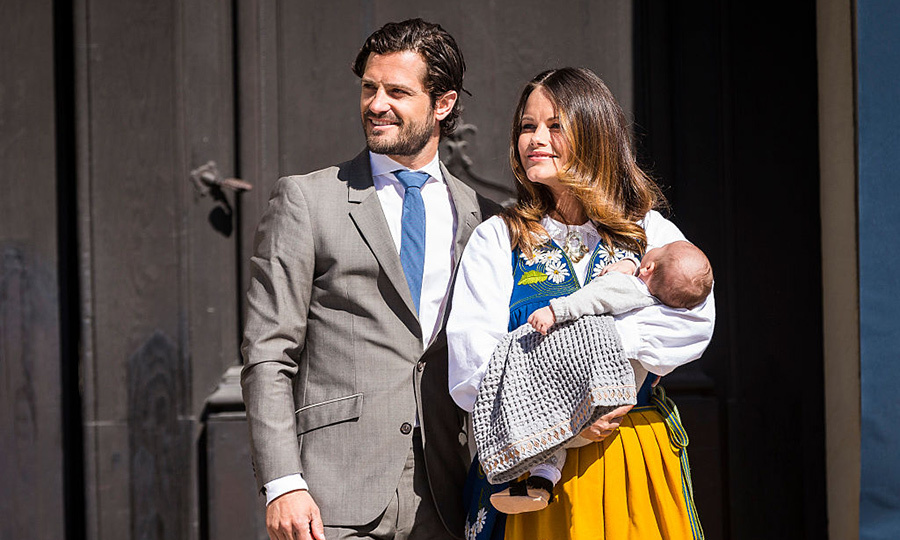 Prince Alexander attended his first official engagement – Sweden's national day at the Royal Palace in Stockholm – on June 6, 2016.