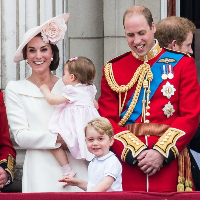 Prince William beamed watching his young son take in the excitement at the 2016 Trooping the Colour ceremony.