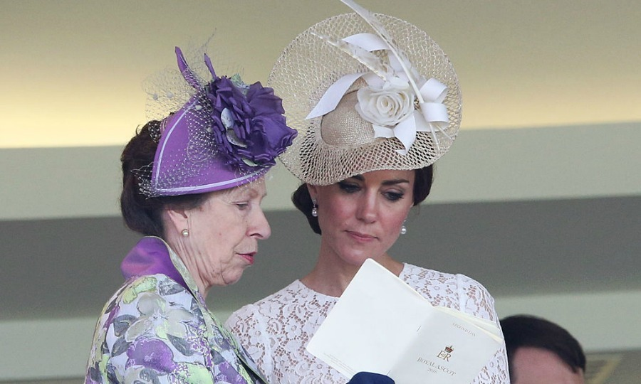 Kate Middleton and Princess Anne checked out the program together.