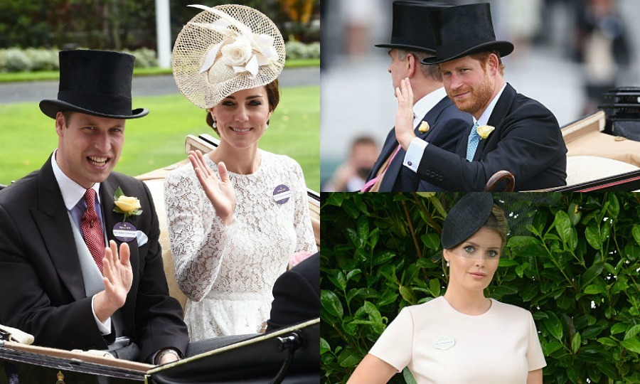 It's off to the races for the royal family! From Queen Elizabeth to Crown Princess Mary of Denmark, a number of royals have descended upon the Ascot racetrack for the 2016 Royal Ascot. Click through for the best photos from the five-day event including Kate Middleton's grand debut to an appearance by Princess Diana's stylish niece, Lady Kitty Spencer.