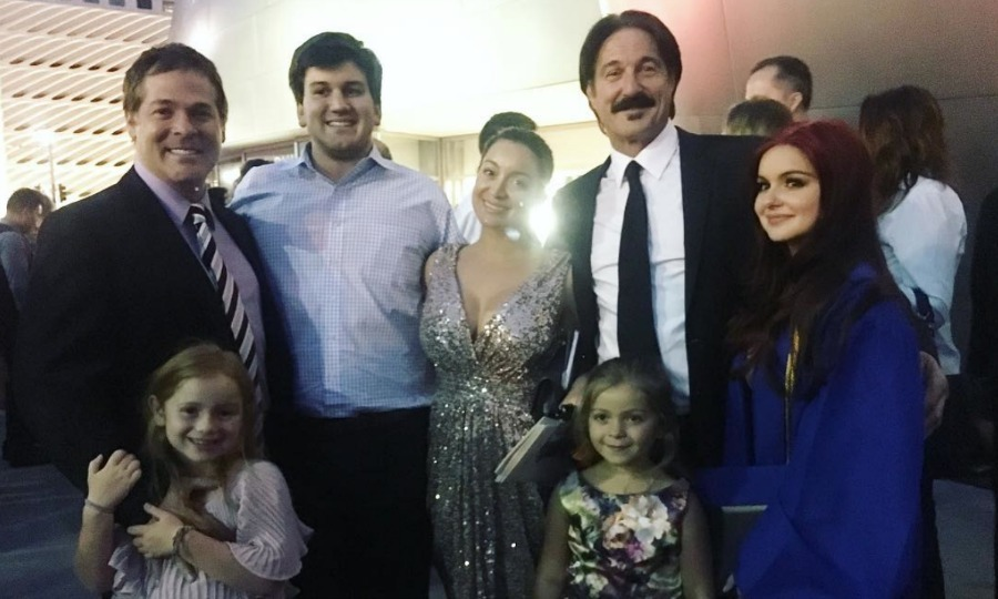 "<i>Modern Family</i> star Ariel Winter was surrounded by her own family at her high school graduation. The soon-to-be UCLA student shared a photo with her loved ones writing, ""Family ❤ None of this would ever have been possible without them. So grateful! #graduation.""
