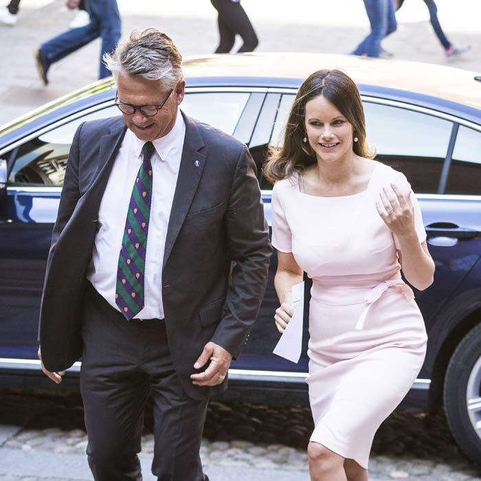 Supportive sister! New mom Princess Sofia of Sweden traveled to Stockholm to attend her younger sister, Sara's graduation ceremony.